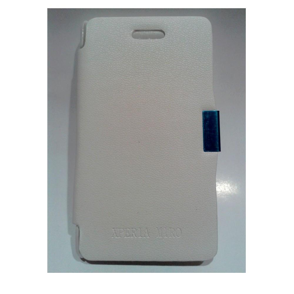 Funda Tapa Sony Xperia Miro Blanca